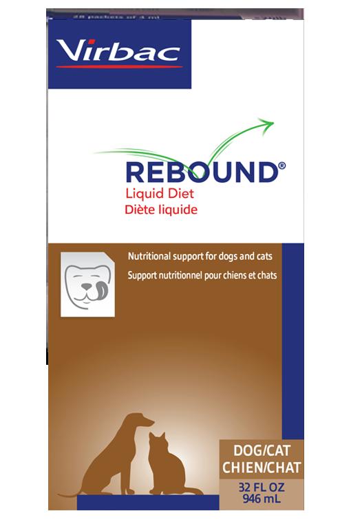 Rebound Liquid pet diet